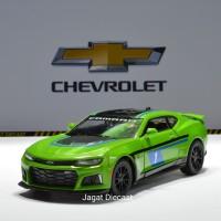 Kinsmart 2017 Chevrolet Camaro ZL1 Printing Green Skala 38