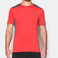 Under Armour Original UA Raid Tshirt Merah Abu Kaos Gym Pria 4a2fac67b8