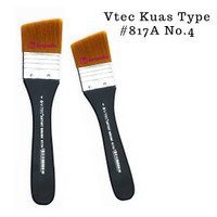 V-Tec Kuas 817/A No.4 - Kuas Lukis Vtec Type #817A No. 4 Terlaris
