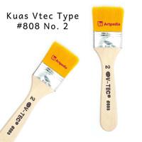 V-Tec Kuas 808 No.2 / kuas lukis Vtec - Kuas Vtec Type #808 No. 2