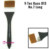 V-Tec Kuas 813 No.7 Long / Kuas Lukis
