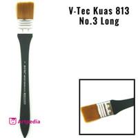 V-Tec Kuas 813 No.3 Long / Kuas Lukis