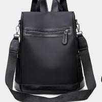 Tas Ransel Wanita Korea Style Import Murah - BLACK HTI2227