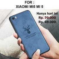 Case Xiaomi Mi5 Mi 5 softcase casing cover leather tpu ultra thin DEER
