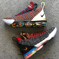 Sepatu Basket Nike Lebron 16 Thru 5 / Nike Lebron XVI Thru 5 Premium