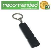Gantungan Kunci Peluit Aluminium - Z6482 - Hitam
