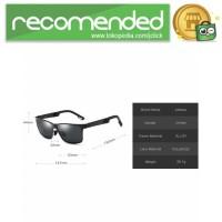Kacamata Hitam Pria Magnesium Polarized Sunglasses - A6560 - Hitam Or