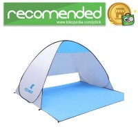 Keumer Tenda Camping Automatic Open Anti UV Shelter - ZP03 - Gray