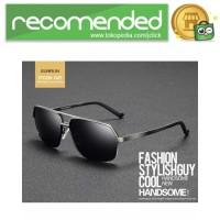 Kacamata Hitam Pria Magnesium Polarized Sunglasses - 8549 - Hitam