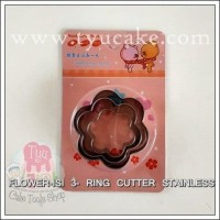 FLOWER-ISI 3- RING CUTTER STAINLESS