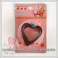 LOVE-ISI 3- RING CUTTER STAINLESS