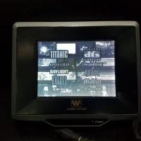 TV ondash Wearnes USA model LS7500 5.5 inch ,sistem warna PAL