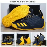 Sepatu Basket Adidas James Harden 2 Darkblue Yellow