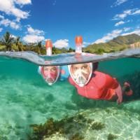 Original Tribord Easybreath Snorkeling Mask - Full Face Snorkel