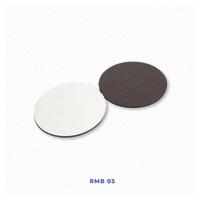 Tatakan Gelas Bulat Polos Isi 6 Untuk Sablon Digital Sublimasi