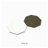 Coaster Tatakan Gelas Polos Isi 6 Untuk Sablon Digital Sublimasi