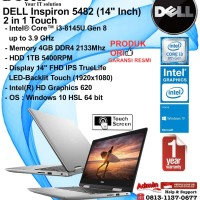 DELL Inspiron 5482 (14 Inch) Intel Core i3-8145U/4GB/1TB/WIN10HSL