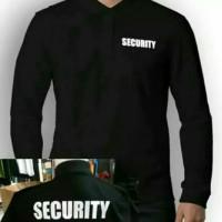 Jual Kaos Polo Lengan Panjang Security Tulisan Depan Dan Belakang Hitam L Kota Bekasi 45 Collection Tokopedia