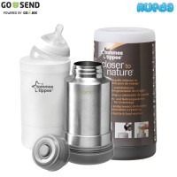 Premium Tommee Tippee Termos Air Travel Bottle and Food Warmer