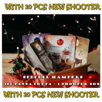 [SEASONS DEALS] 3pc Omura Dessert Shooter Panna Cotta + 1 BOX Shooter