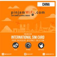 Sim Card China & Hong Kong Unlimited FUP 3 GB   SimCard China Hongkong