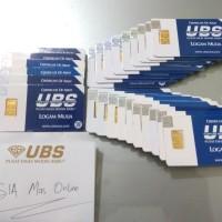 Logam mulia LM UBS 24k 1 gram / 1gram bersertifikat