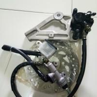 Harga ready stock rem cakram assy atau disc brake assy belakang supra x | Pembandingharga.com