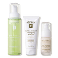Jual Eminence Organic Skin Care Acne Advanced 3-Step Treatment System Murah