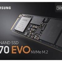 Samsung SSD 970 EVO NVMe M2 500GB