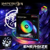 Fan / Kipas Gaming Imperion FA-G12-07 Energize 120mm, RGB