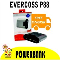 Berkualitas Powerbank Evercoss P88 8800 Mah