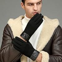 sarung tangan pria untuk winter / musim dingin touchscreen