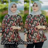Model Baju Batik Wanita Kantor Elegan Terbaru
