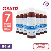 Paket Hemat 21 Jamsi 100ml GRATIS 7 - jamu herbal diabetes gula darah