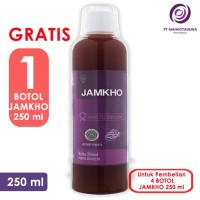 Paket Hemat 4 Jamkho 250ml GRATIS 1