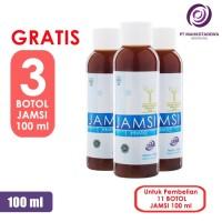 Paket Hemat 11 Jamsi 100ml GRATIS 3 - jamu herbal diabetes gula darah
