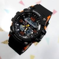 Jam tangan pria anak cowo digital terbaru g shock casio ripcur gold