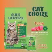 GOJEK cat choize 20kg makanan kucing 20 kg tuna no bolt maxi momo jio