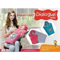 Dialogue Baby blanket saku bee series DGB3107