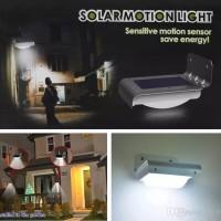 Lampu Solar Dinding sensor gerak waterproof 16 LED Outdoor rumah