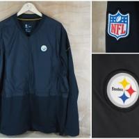 Jacket Nike Original NFL Steelers Fullzip