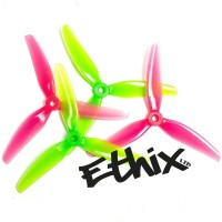 ETHIX S3 5x3.1x3 Watermelon Propeller (2CW+2CCW) - Poly Carbonate
