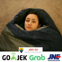 sleeping bag super tebal / polar super tebal