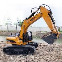Excavator Huina 580 Full metal 1:14 Rc Hydraulic excavator