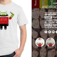 Jual KAOS ANDROID JKT48 - ORDINAL APPAREL Murah