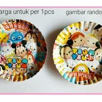 piring kertas kue ulang tahun birthday hbd karakter tsum tsum tsumtsum