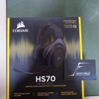 Corsair HS70 Wireless Gaming Headset Garansi Resmi DTG 2 Tahun