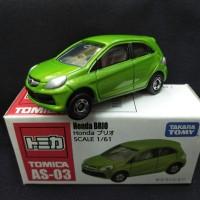 Tomica Honda Brio AS-03 Hijau