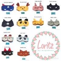 Kacamata jemur bayi / baby eye mask / washable LORITZ original