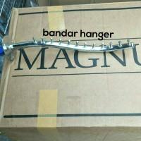 hanger suling tembok paku 12 belalai